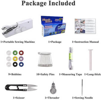 Included accessories from Amazon