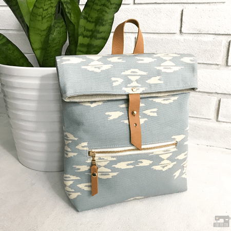 Abbey Convertible Backpack Sewing Pattern by I Love You Sew