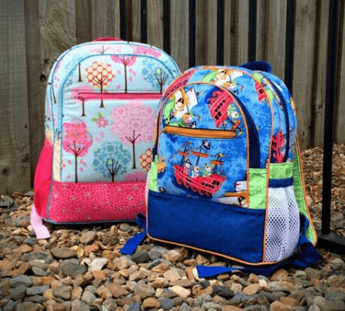 Adventure Time Backpack Sewing Pattern by Andrie Designs