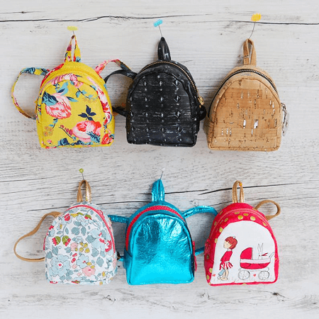 Bitty Backpacks Sewing Pattern by Hartland Quilt Shop