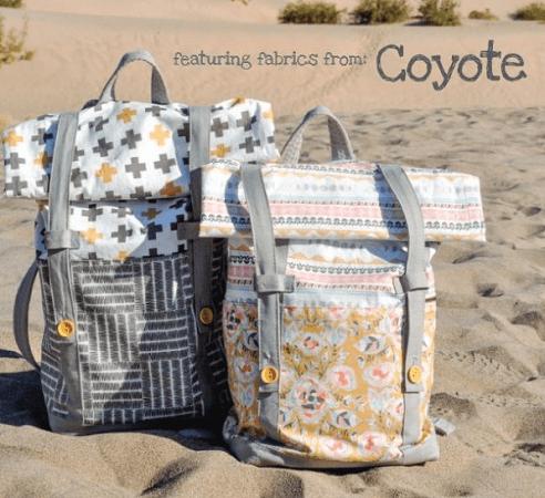 Wanderlust Backpack Sewing Pattern by Sew Modern Bags