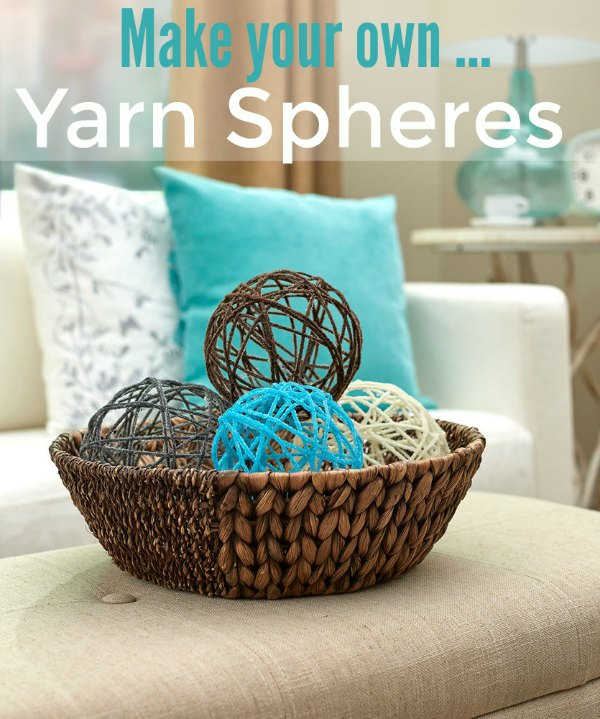 Crochet Yarn Sphere Tutorial