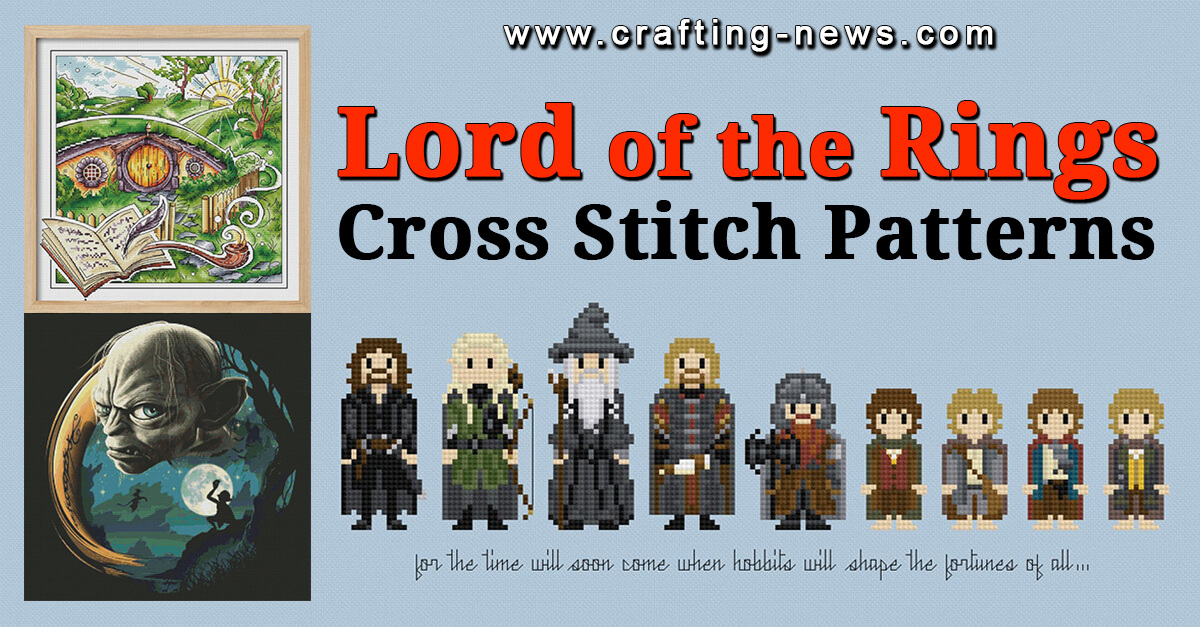LORD OF THE RINGS CROSS STITCH PATTERNS