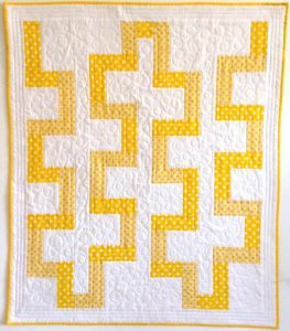 Baby Yellow Brick Road Quilt Pattern by MamaNanaPatterns