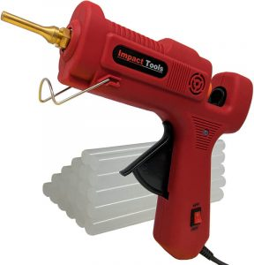 The Impact Tools Hot Glue Gun Full Size (Not Mini) Dual Power High Temp Heavy Duty