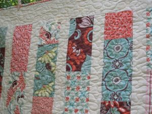 Layered Brick Road Quilt Pattern by Modern Material Girl
