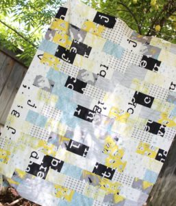 Subway Tile Inspired Top Quilt Pattern by Sew What Alicia