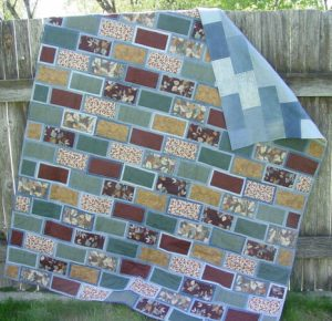 Windows Denim or Brick Road Quilt Pattern by Quilted Sunshine