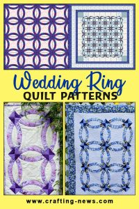 WEDDING RING QUILT PATTERNS