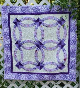 Baby Double Wedding Ring Quilt Pattern By BeckysQuiltDesigns