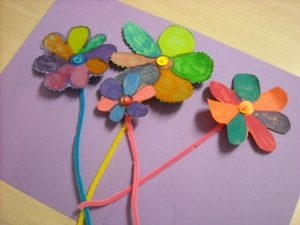 CRAFTY KITCHEN PIPE CLEANER FLOWERS BY MOMMY'S KITCHEN
