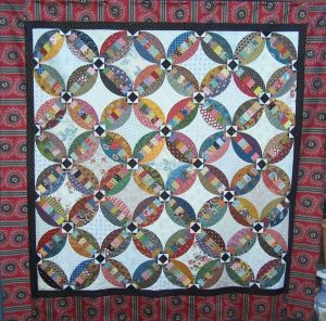 Faux Double Wedding Ring Quilt Pattern PatchworkFun