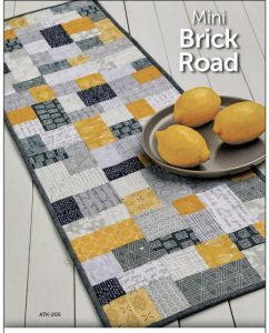 Mini Yellow Brick Road Quilt Pattern by Atkinson Designs