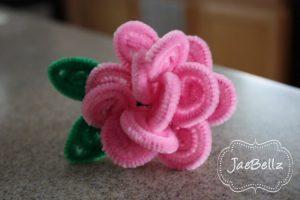 PIPE CLEANER FLOWER RING BY JAE BELLZ