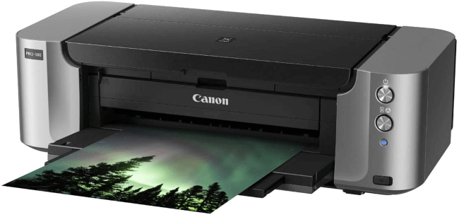 best printer for stickers canon pro 100