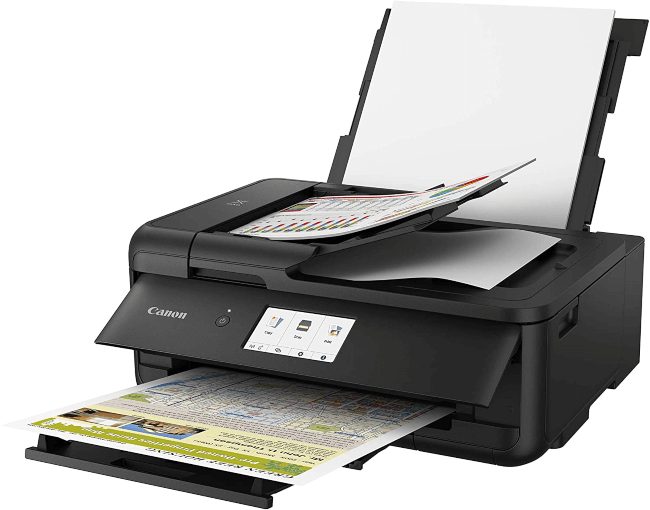 best printer for stickers canon ts9520