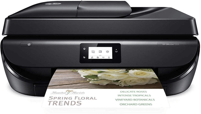best printer for stickers hp 5255