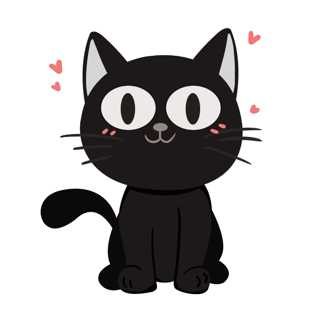 free halloween clipart cute kitty