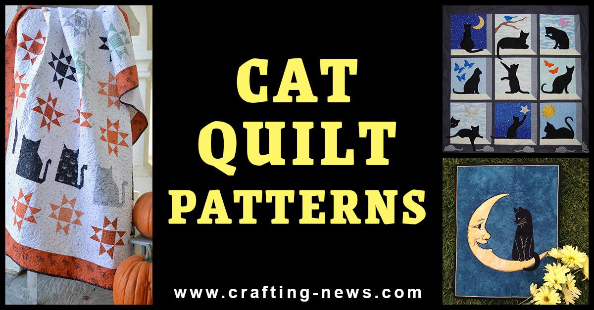 CAT QUILT PATTERNS