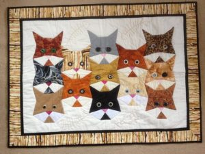 CAT QUILT PATTERN BY REGAN PURCELL
