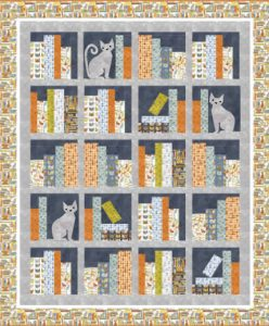 CAT TALES QUILT PATTERN BY WENDY SHEPPARD