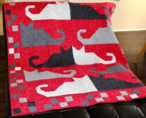 EASY CAT QUILT PATTERN BY QUILTPATTERNS