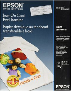 Epson Cool Peel Iron on Transfer Paper