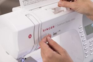 Features of a Self Threading Sewing Machine
