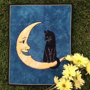HELLO MR MOON WALL HANGING BY WE ALL SEW