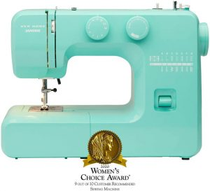 Janome Arctic Crystal Easy-to-Use Portable Sewing Machine