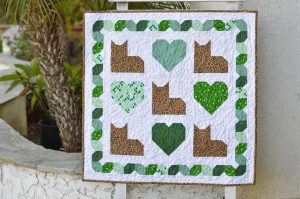 KITTY LOVE QUILT PATTERN BY JEDI CRAFT GIRL