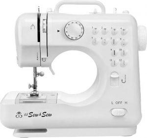 MICHLEY LSS-505+ Desktop 12-Stitch Mini Sewing Machine