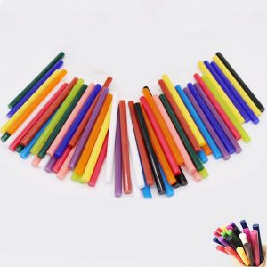 Mini Colored Hot Glue Gun Sticks
