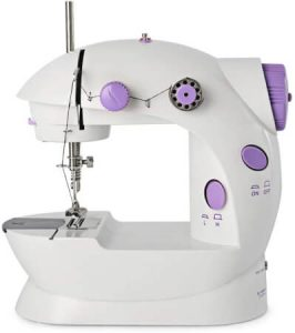 Mini Sewing Machines for Beginner 2-Speed Double Thread Handheld Sewing Embroidery Machine