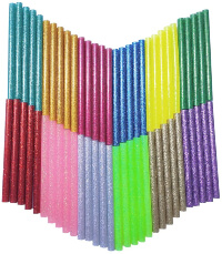 Petift Glitter Colored Hot Glue Sticks