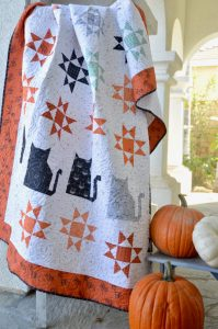 SCAREDY EASY CAT QUILT PATTERN BY JEDICRAFTGIRL