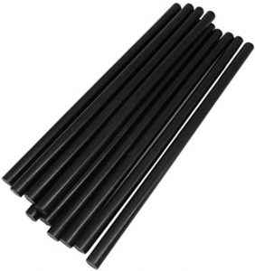 TrendBox Black Colored Glue Sticks