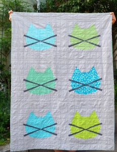 WHISKERS BABY CAT QUILT PATTERN BY SIX WHITE HORSES