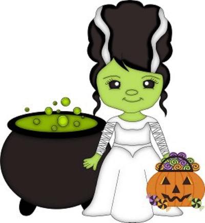 halloween clipart bride of frankenstein