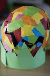 Paper mache pattern