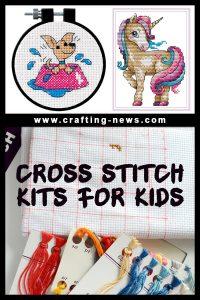 CROSS STITCH KITS FOR KIDS