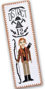 Counted Cross Stitch Kit The Hunger Games