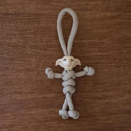 Dobby Simple Paracord Keychain