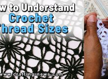 HOW TO UNDERSTAND CROCHET THREAD SIZES