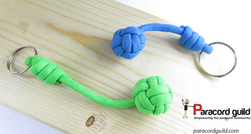 How to tie a paracord keychain by Paracord Guild