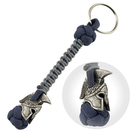Spartan Paracord Keychain for Men