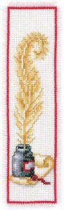 Vervaco Goose Feather Cross Stitch Bookmark Kits