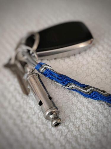 Vortex Paracord Keychain by MrHollowWeen