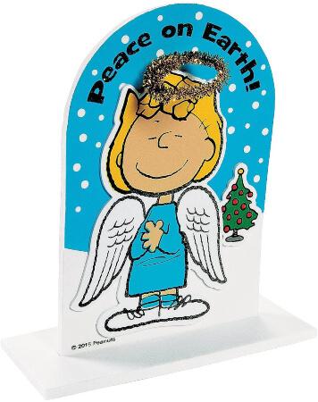 3D Peanuts Faith Christmas Craft for Kids