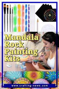 MANDALA ROCK PAINTING KITS